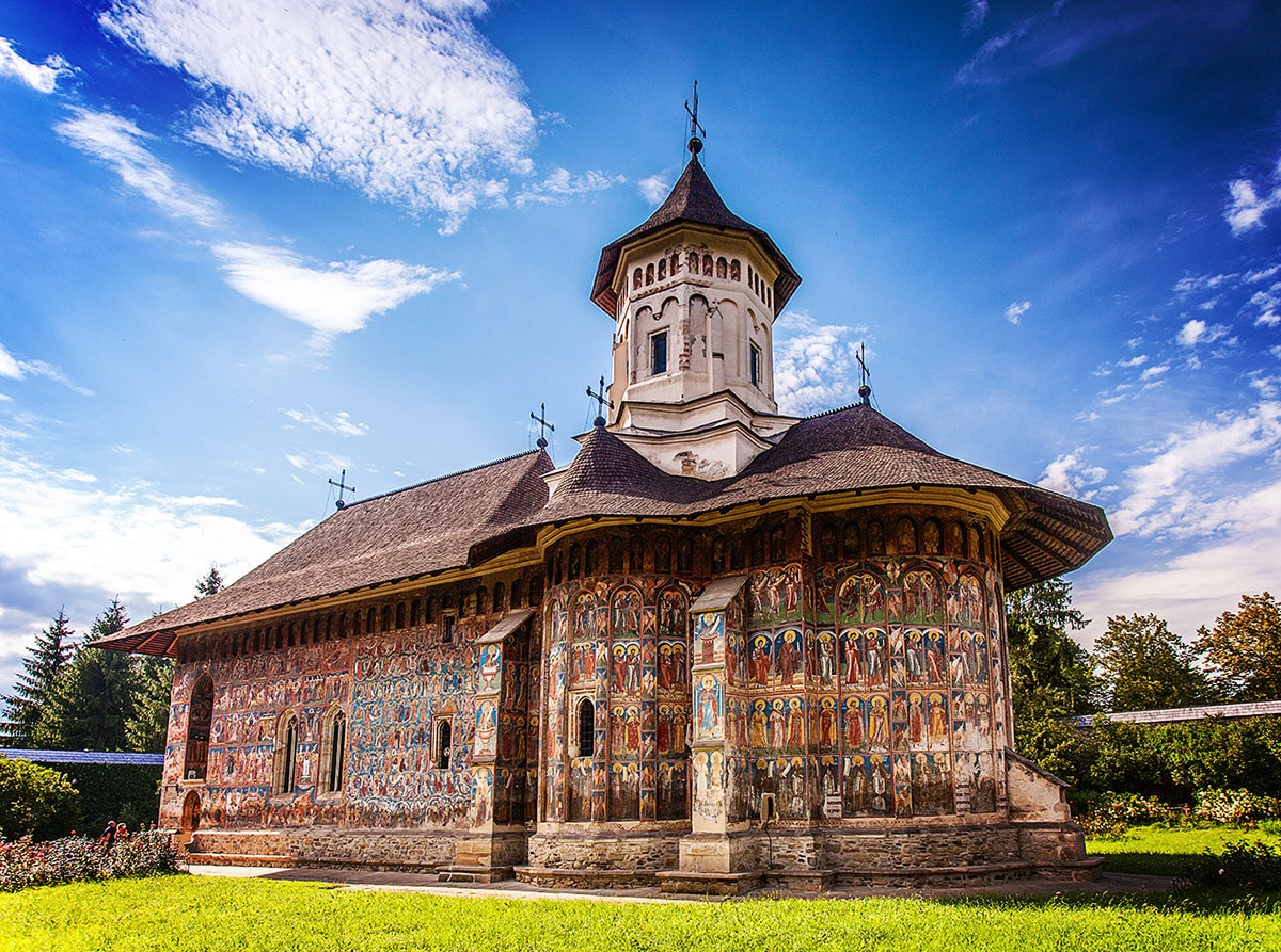 Annunciation Church in Moldovița Monastery, Romania