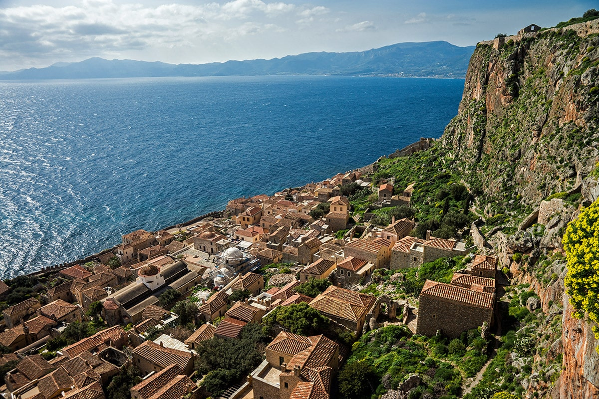 Monemvasia (Greece) and the Mediterranean