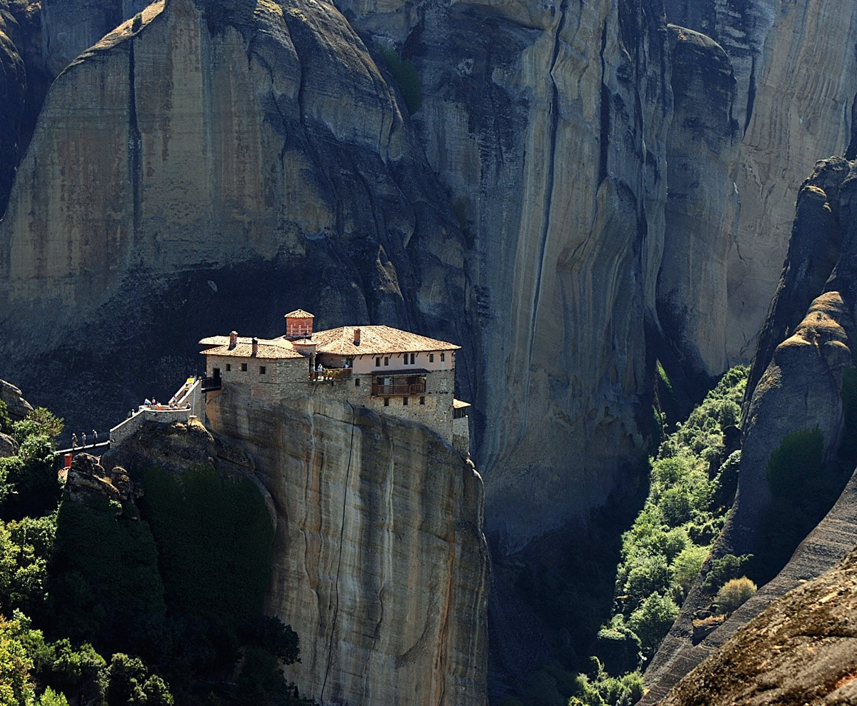 Rousanou Monastery, Meteora (Greece) - one of most impressive Christian monasteries