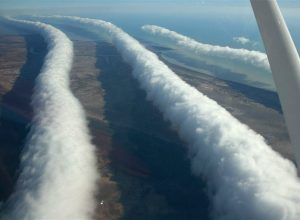 Morning Glory clouds, Queensland