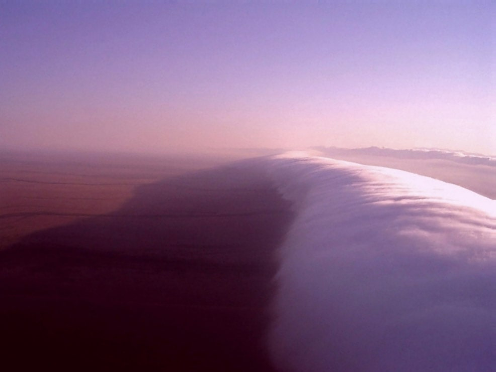 Morning Glory cloud, Queensland