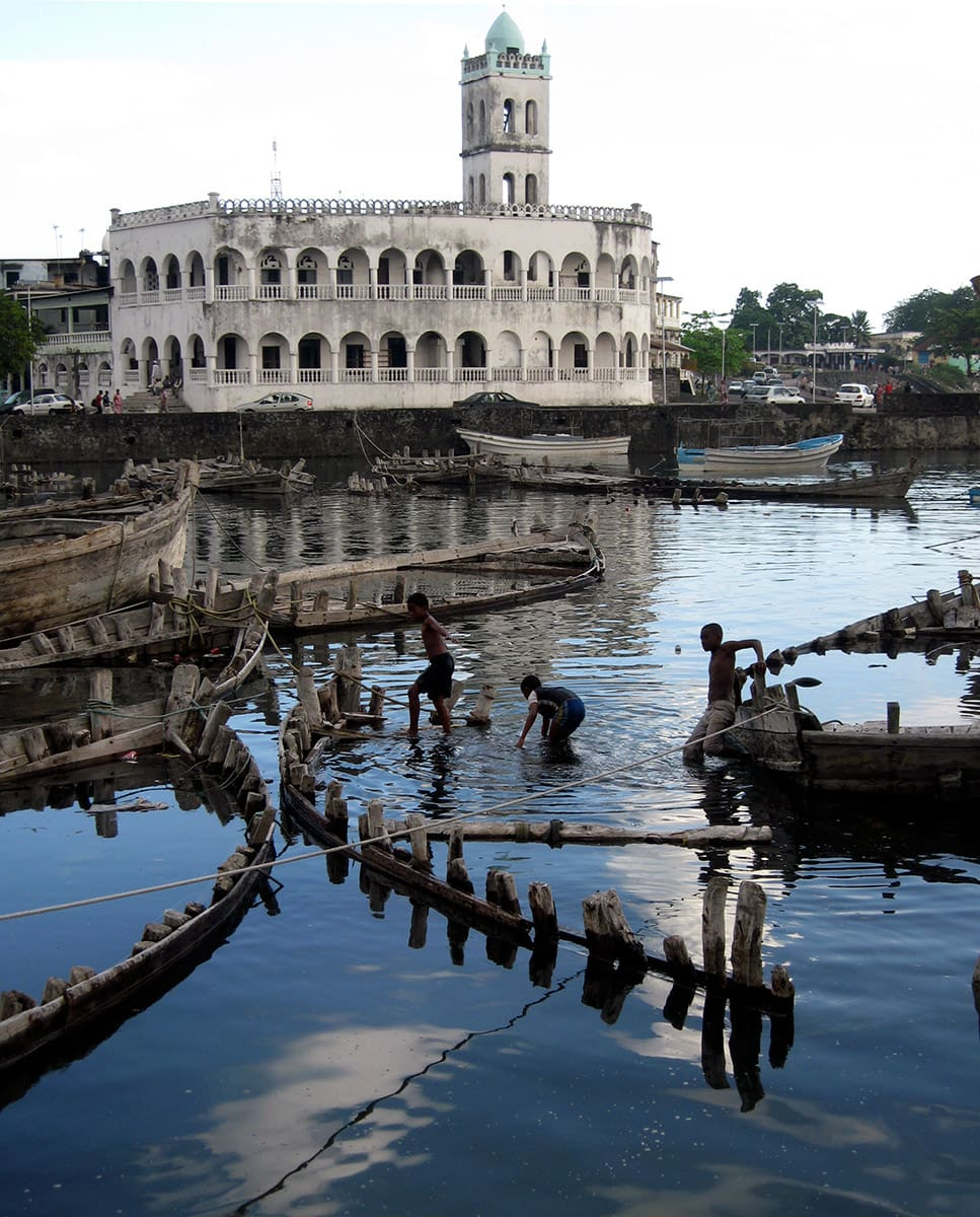 Old Friday Mosque in Moroni, Comoros