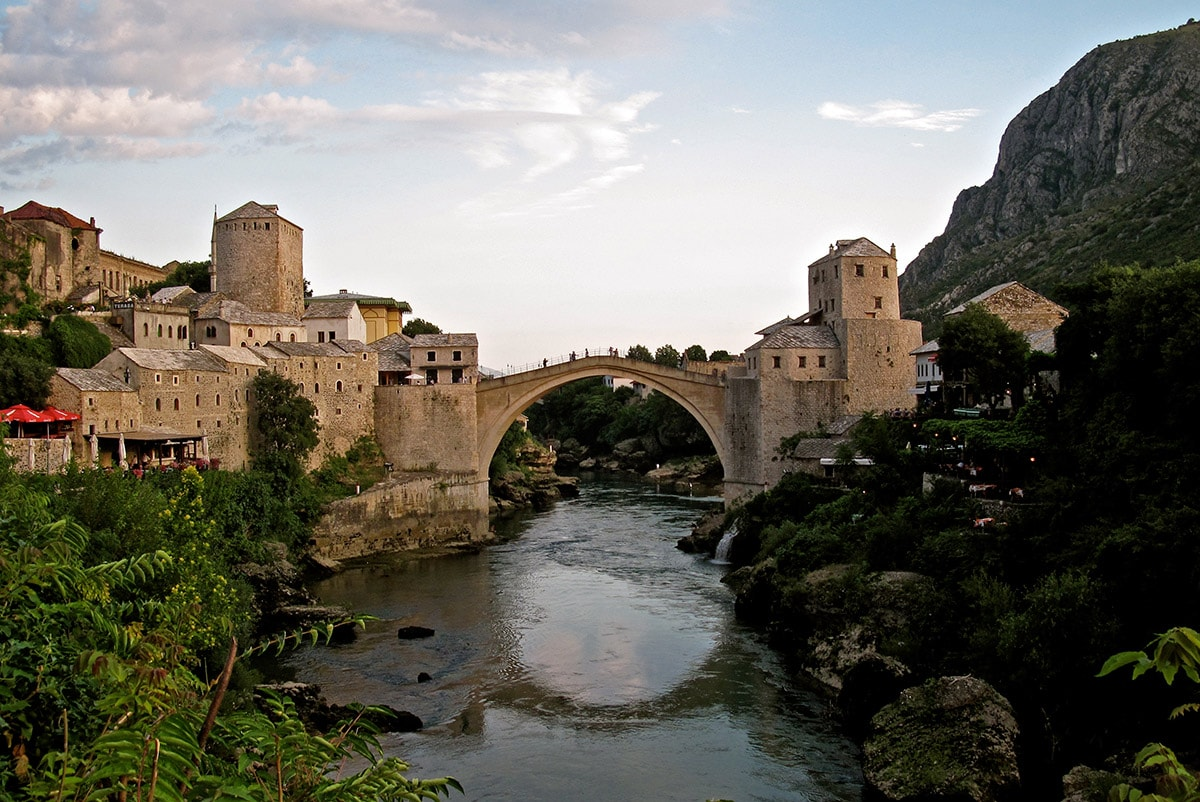 Stari Most in Mostar, Bosnia and Herzegovina