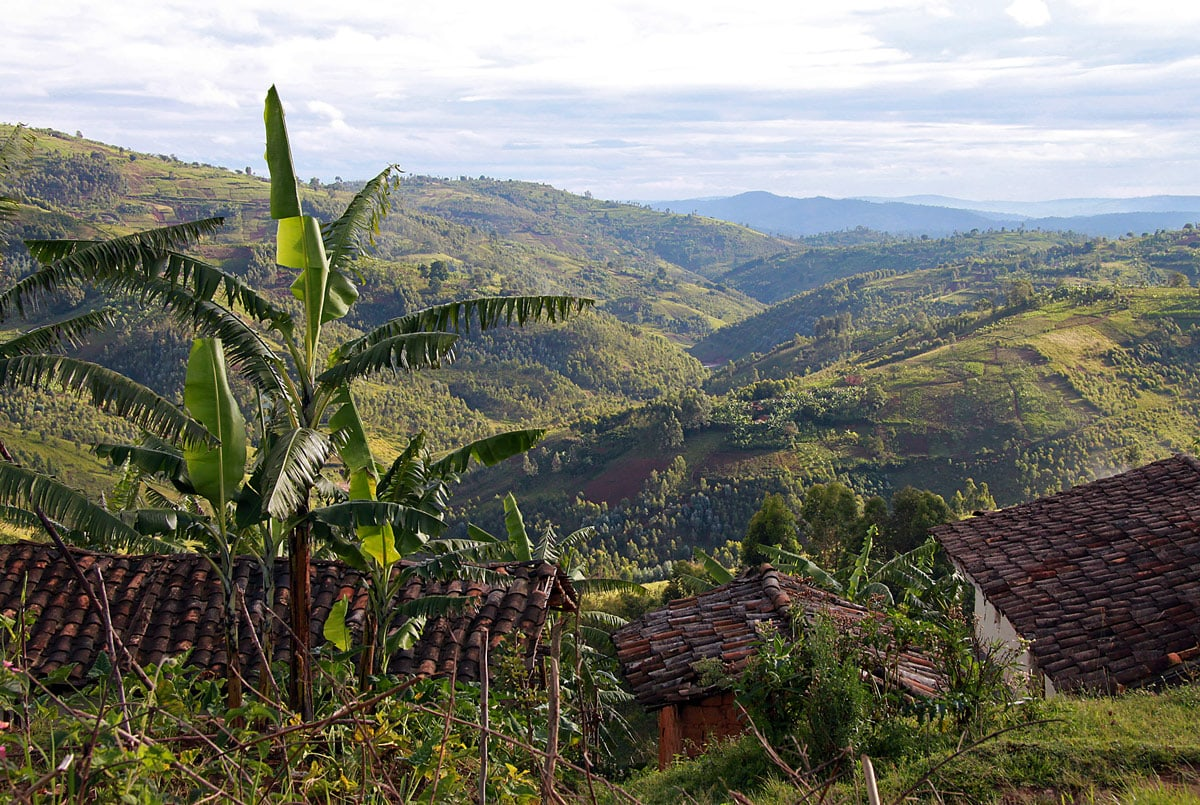 Mountains in Burundi