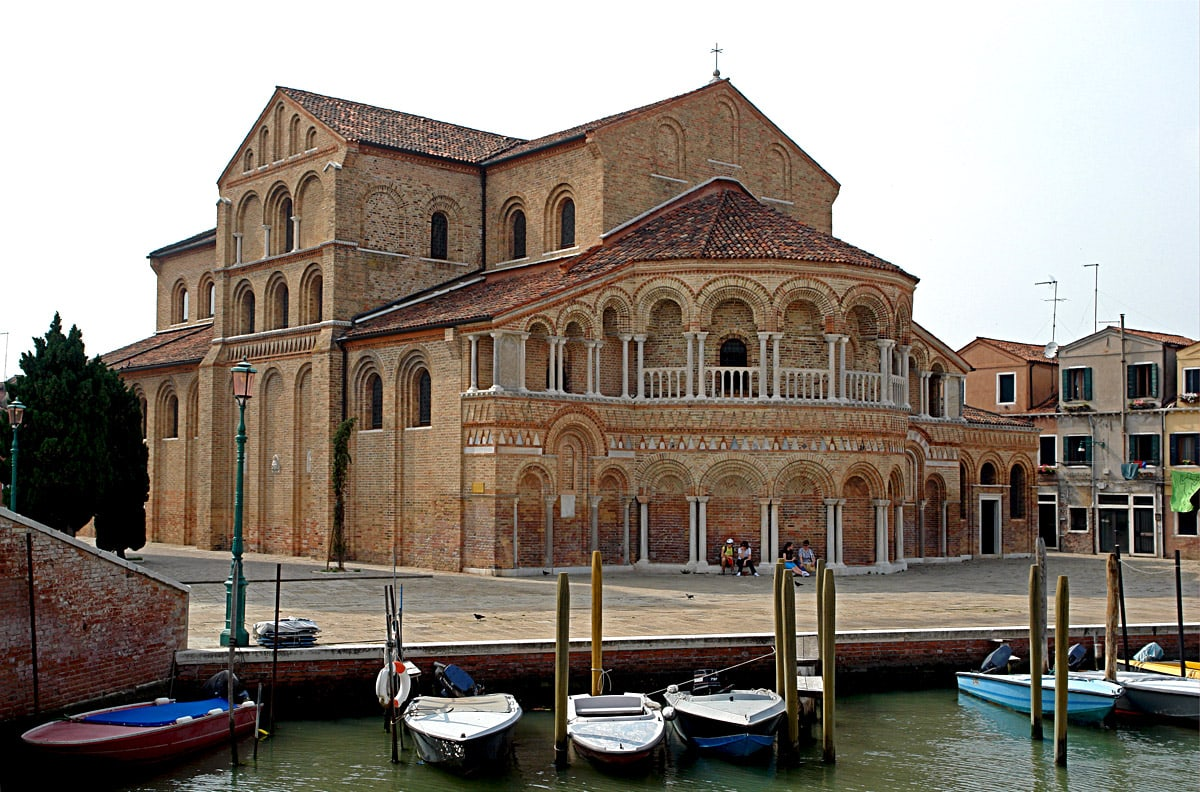 Santa Maria and San Donato Cathedral, Murano, view from south-east