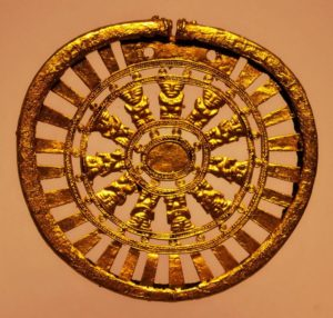 Muisca art in Gold Museum, Bogotá