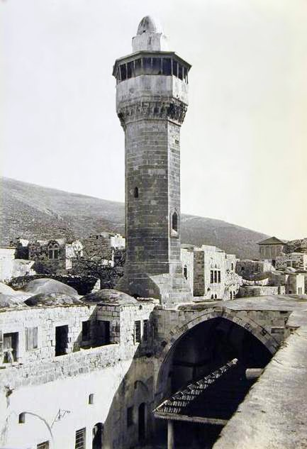 Great Mosque of Nablus, beginning of the 20th century