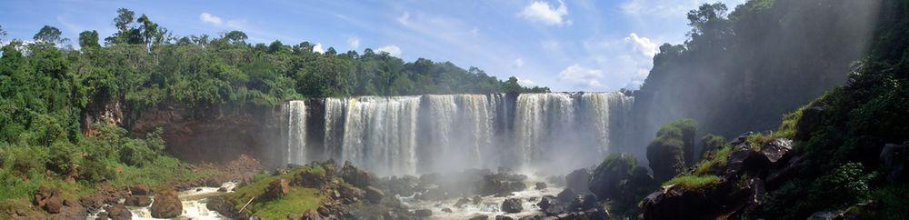 Nacunday Falls, Paraguay