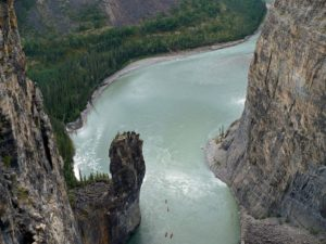 Nahanni Second Canyon, the Gate
