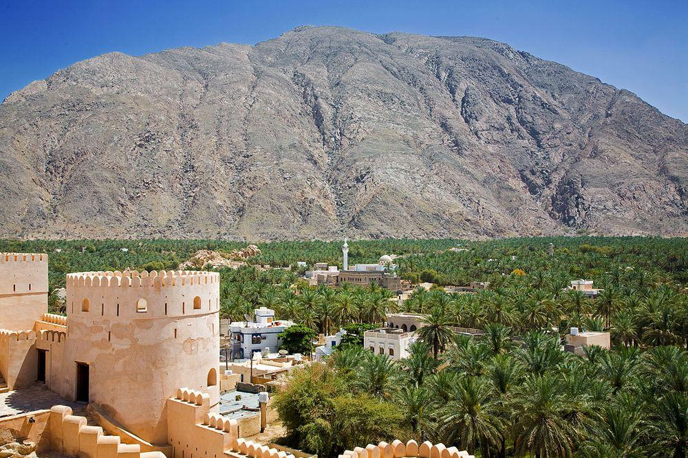 View from Nakhal Fort, Oman