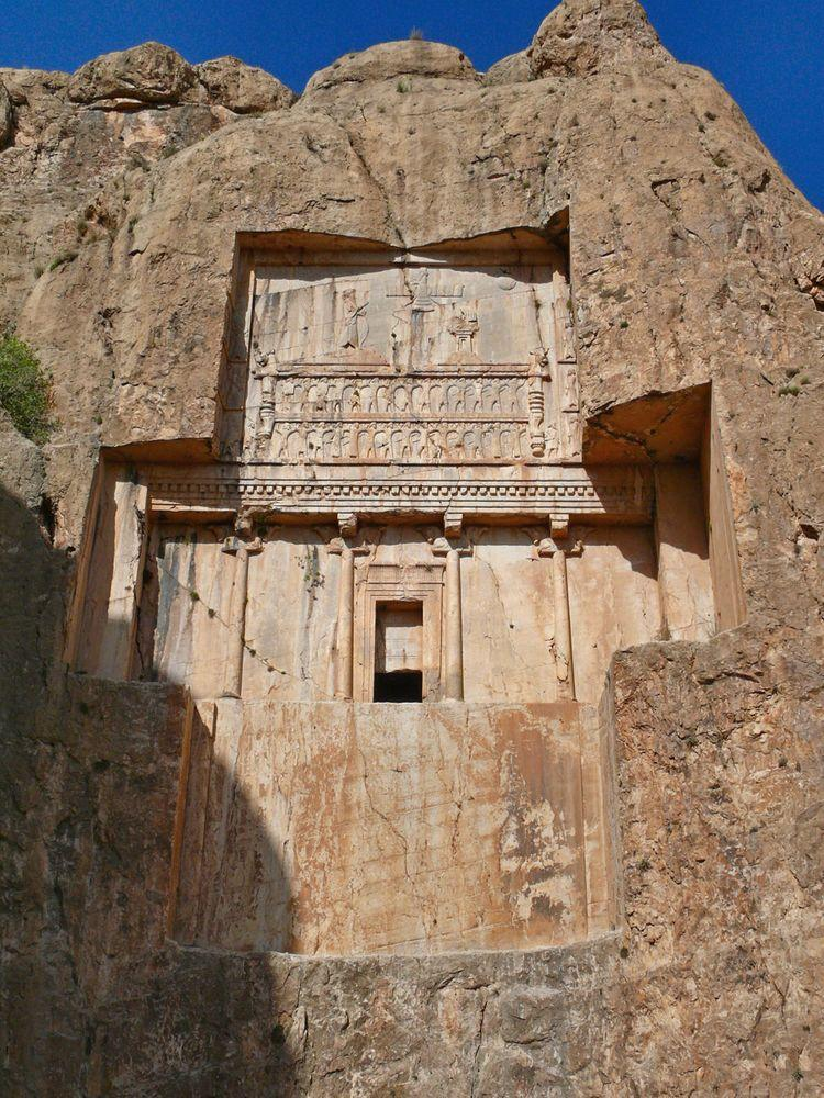 Naqsh-e Rustam in Iran, tomb of Xerxes