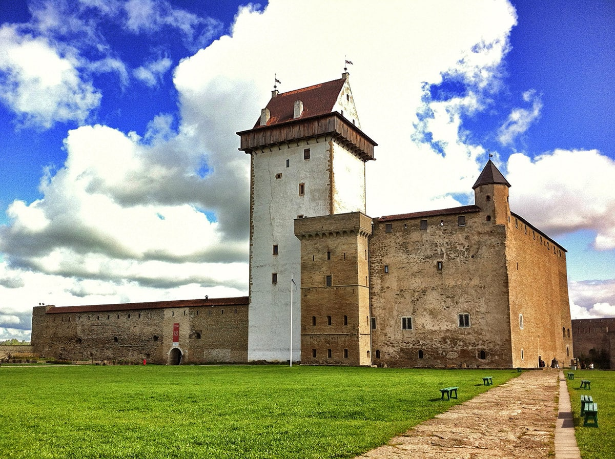 Hermann Castle (Narva Castle) in Estonia