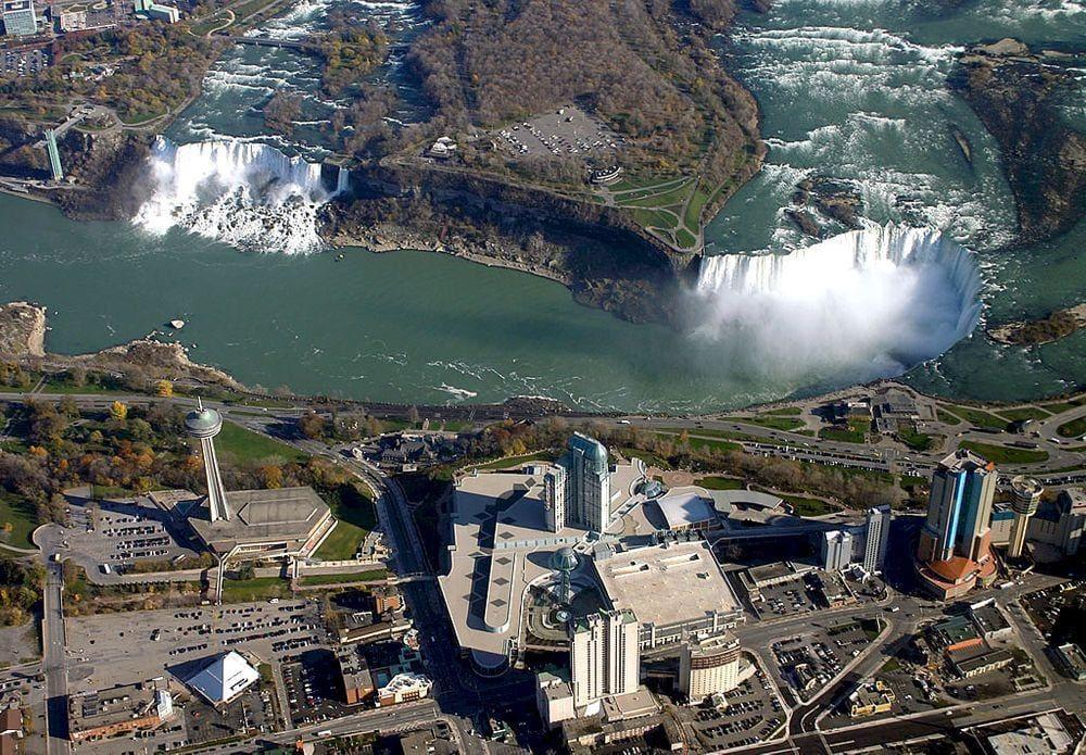 Niagara Falls in Canada / United States