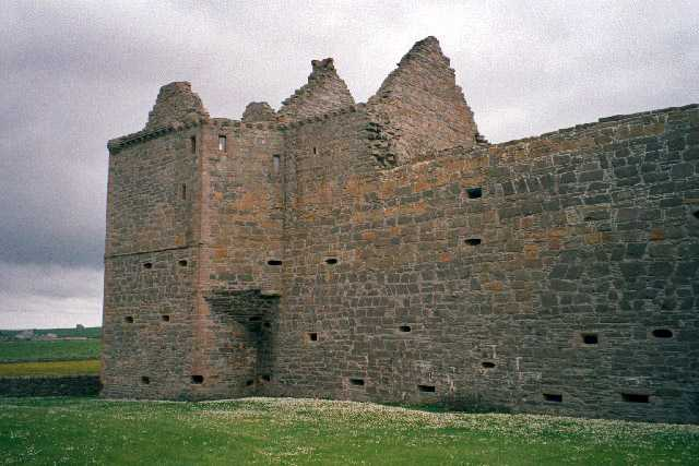 Ruins of Noltland Castle, Scotland
