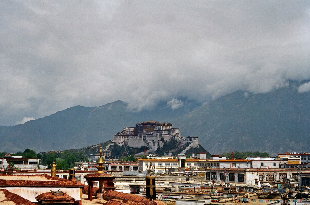 Old Lhasa and Potala Palace, Tibet