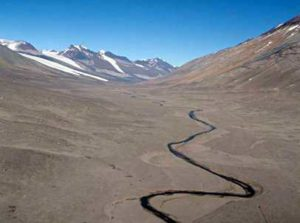 Onyx River - the largest in Antarctica