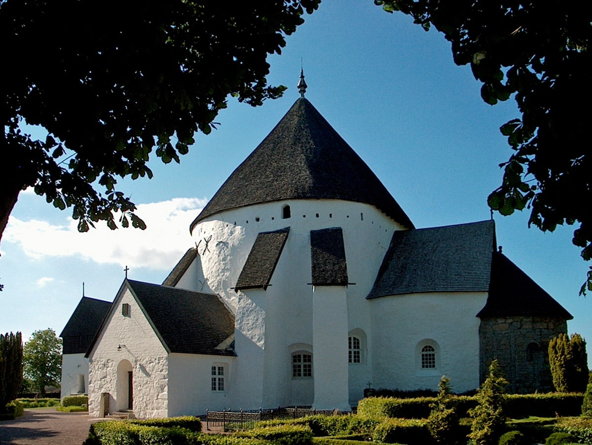 Østerlars Church in Bornholm, another side