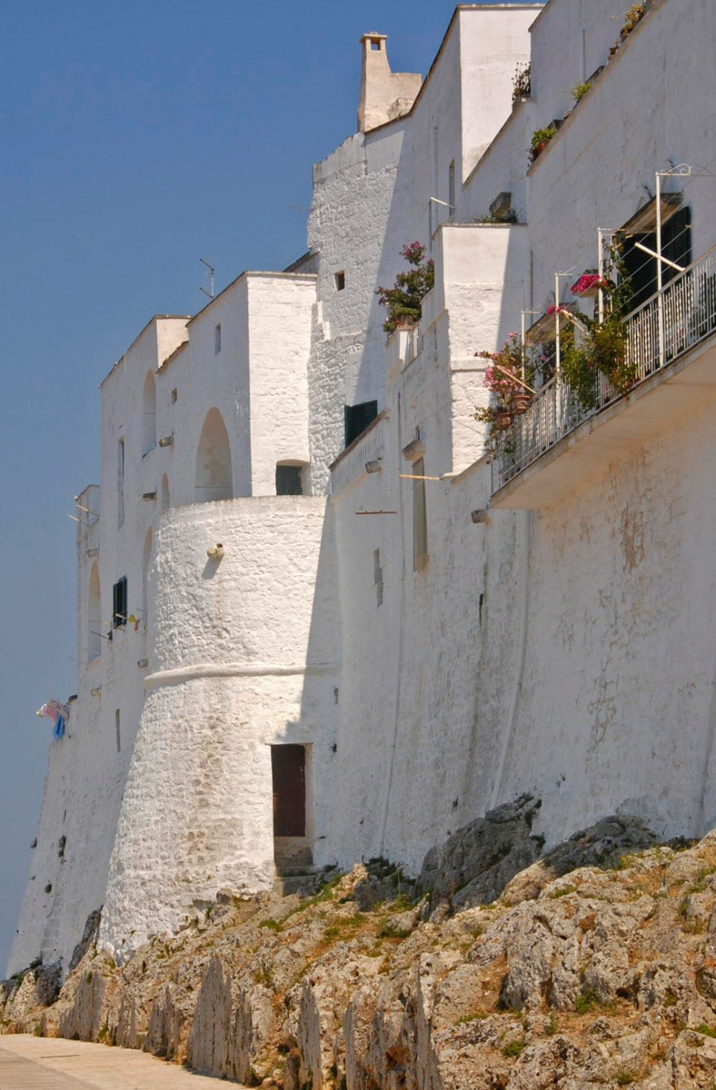Ostuni city walls, Italy