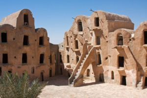 Ksar Ouled Soltane - fortified granary, Tunisia