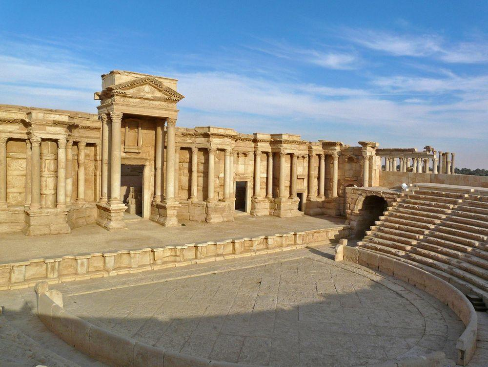 Roman Theater in Palmyra