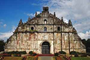 San Agustin Church in Paoay, Philippines