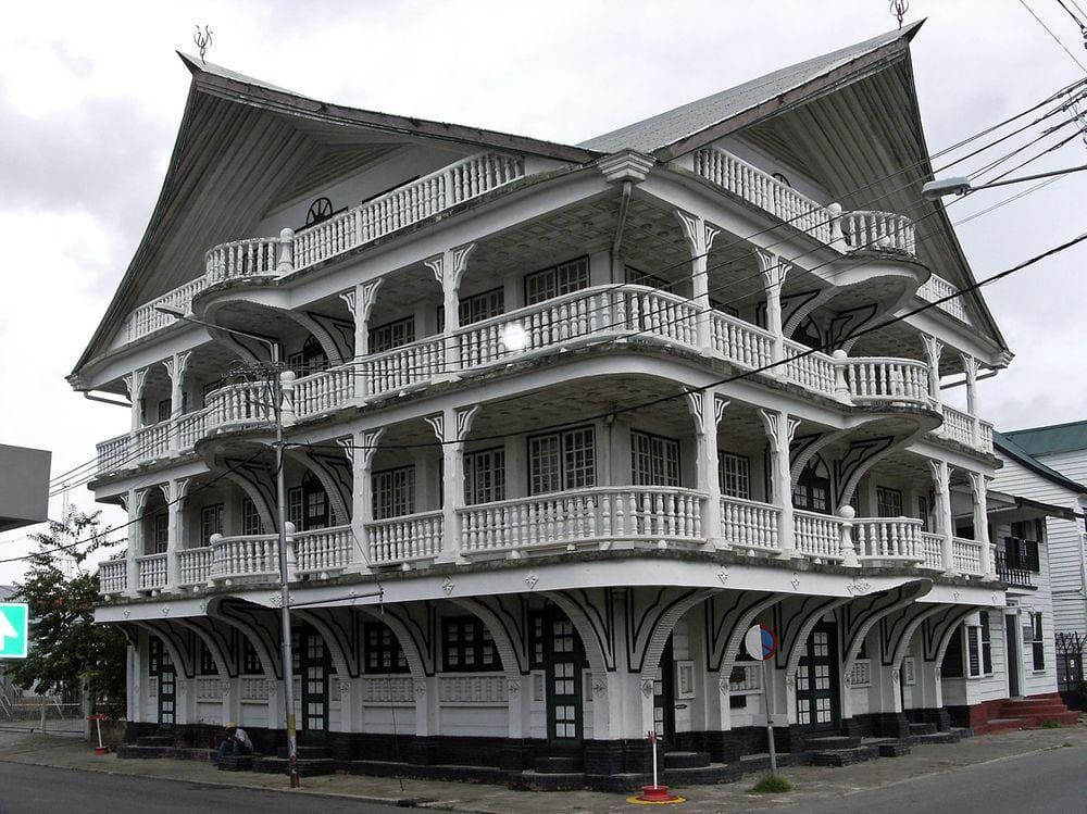 House in Paramaribo, Suriname