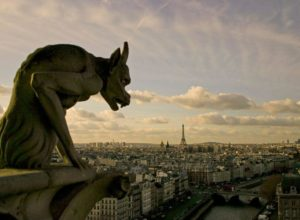 Chimera of Notre Dame Cathedral, Paris