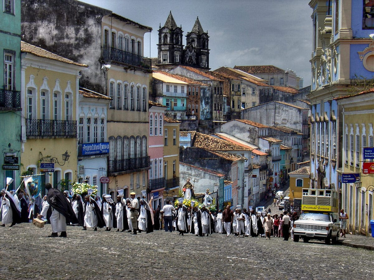 Pelourinho - historic centre of Salvador de Bahia
