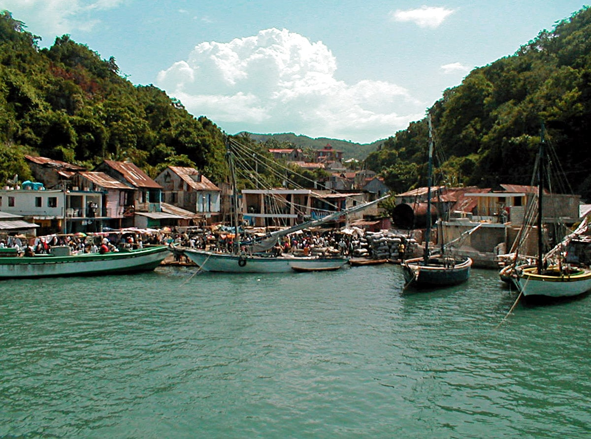 Pestel - small seaside town in Haiti