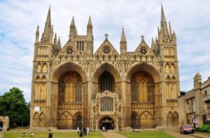 Peterborough Cathedral, England