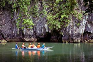 Near the entrance into Puerto Princesa Subterranean River, Philippines