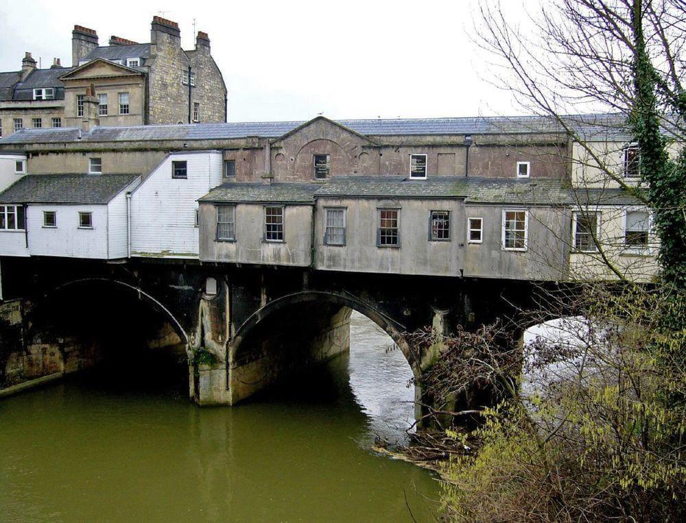 Pulteney Bridge in Somerset, north side