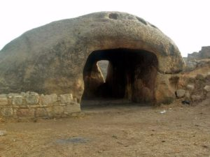Ranigat - room made from single stone, Pakistan