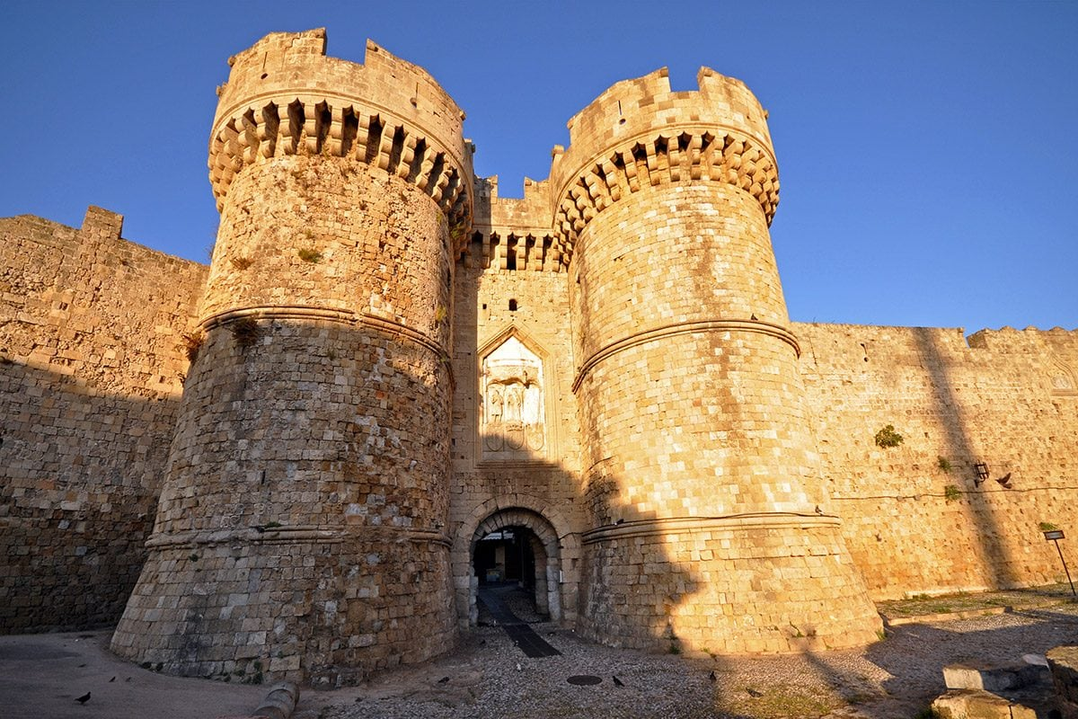 Sea Gate of Rhodes Palace
