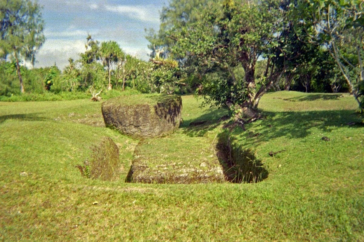 Rota Latte Stones Quarry, Northern Marianas