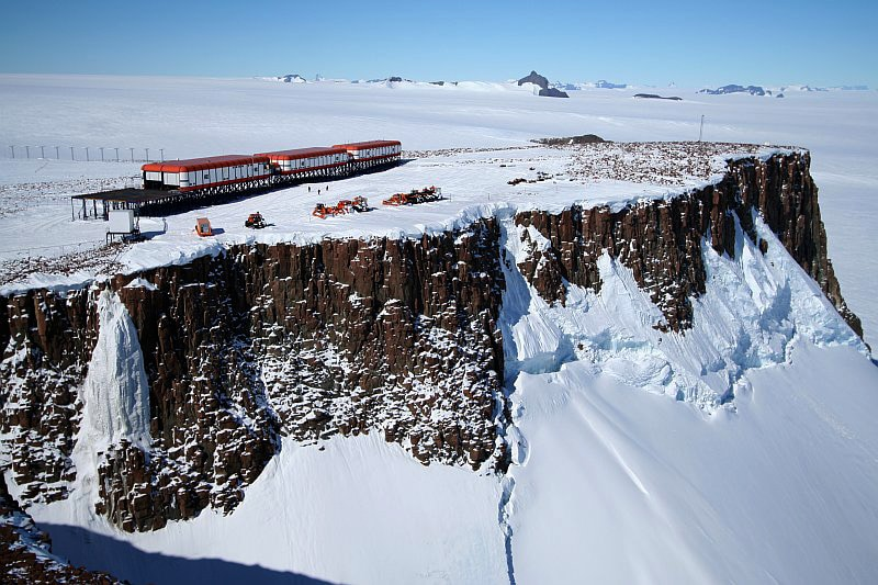 South African SANAE IV station, Antarctica