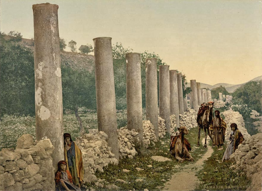 Colonnade in Samaria