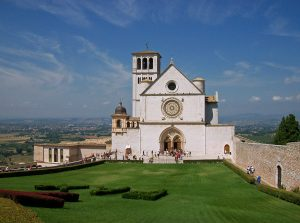 Basilica of San Francesco d'Assisi, facade of the Upper Church