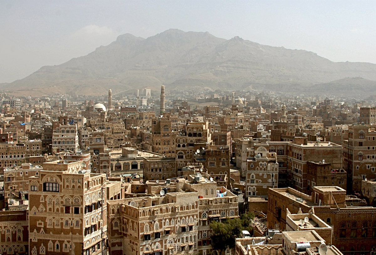 Sanaa, the ancient capital of Yemen