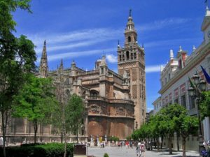 Seville Cathedral - third largest church in world, Spain