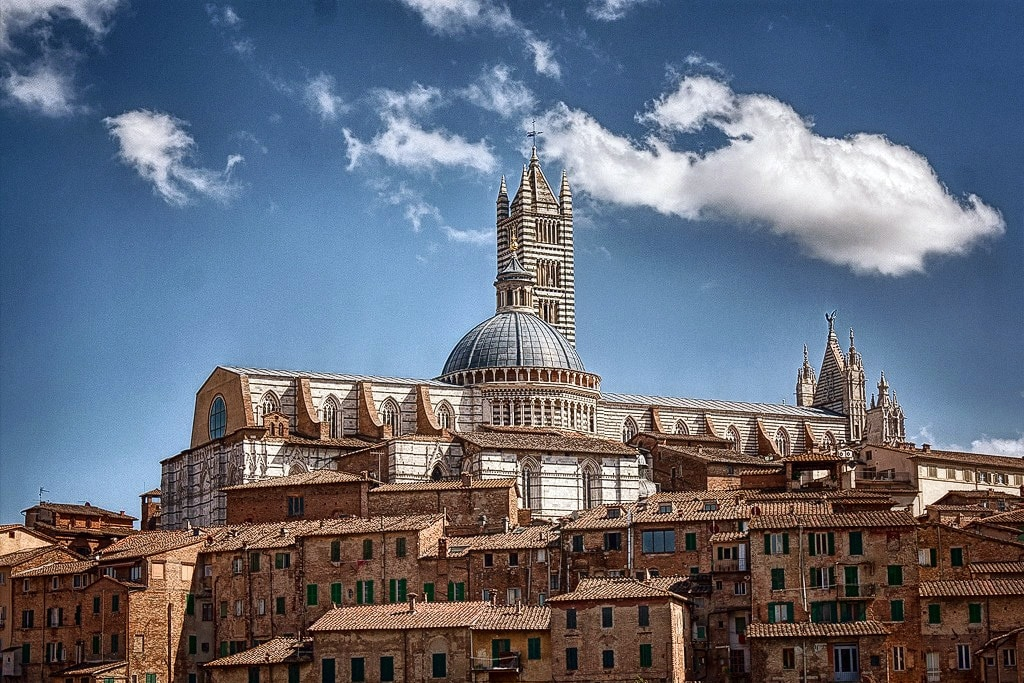 Siena Cathedral rising above the city