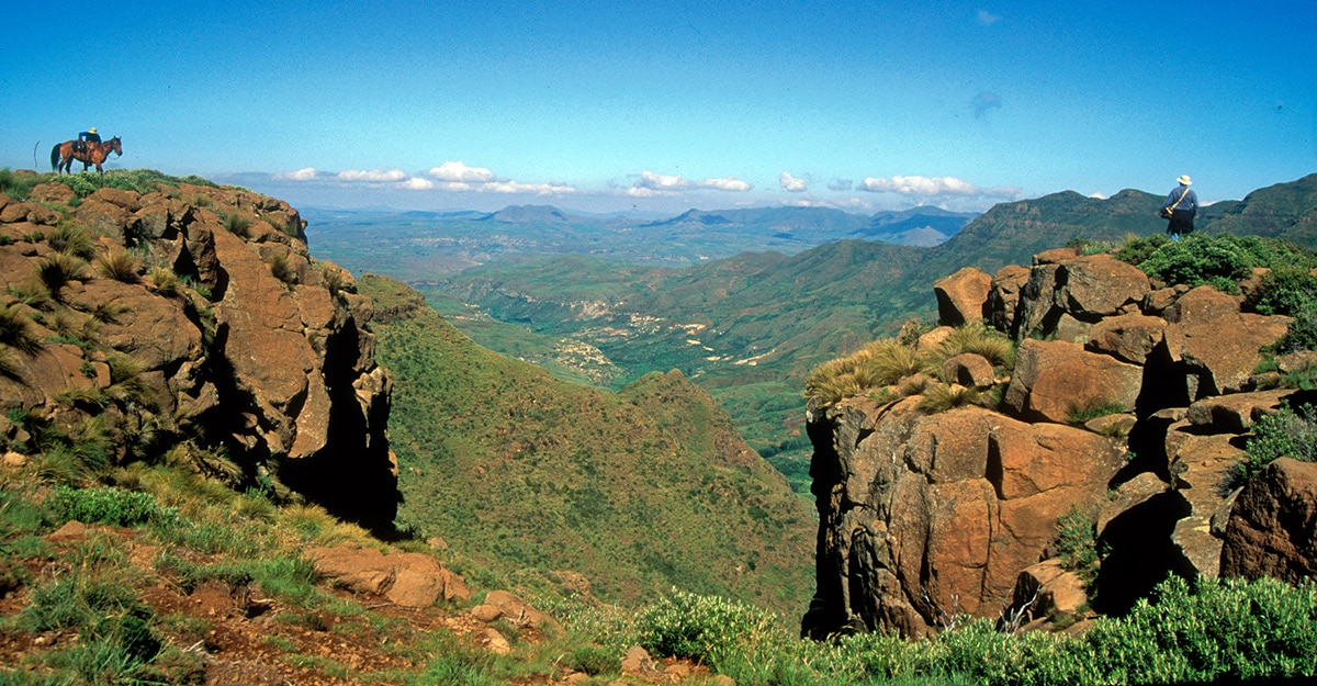 Mountains in Lesotho