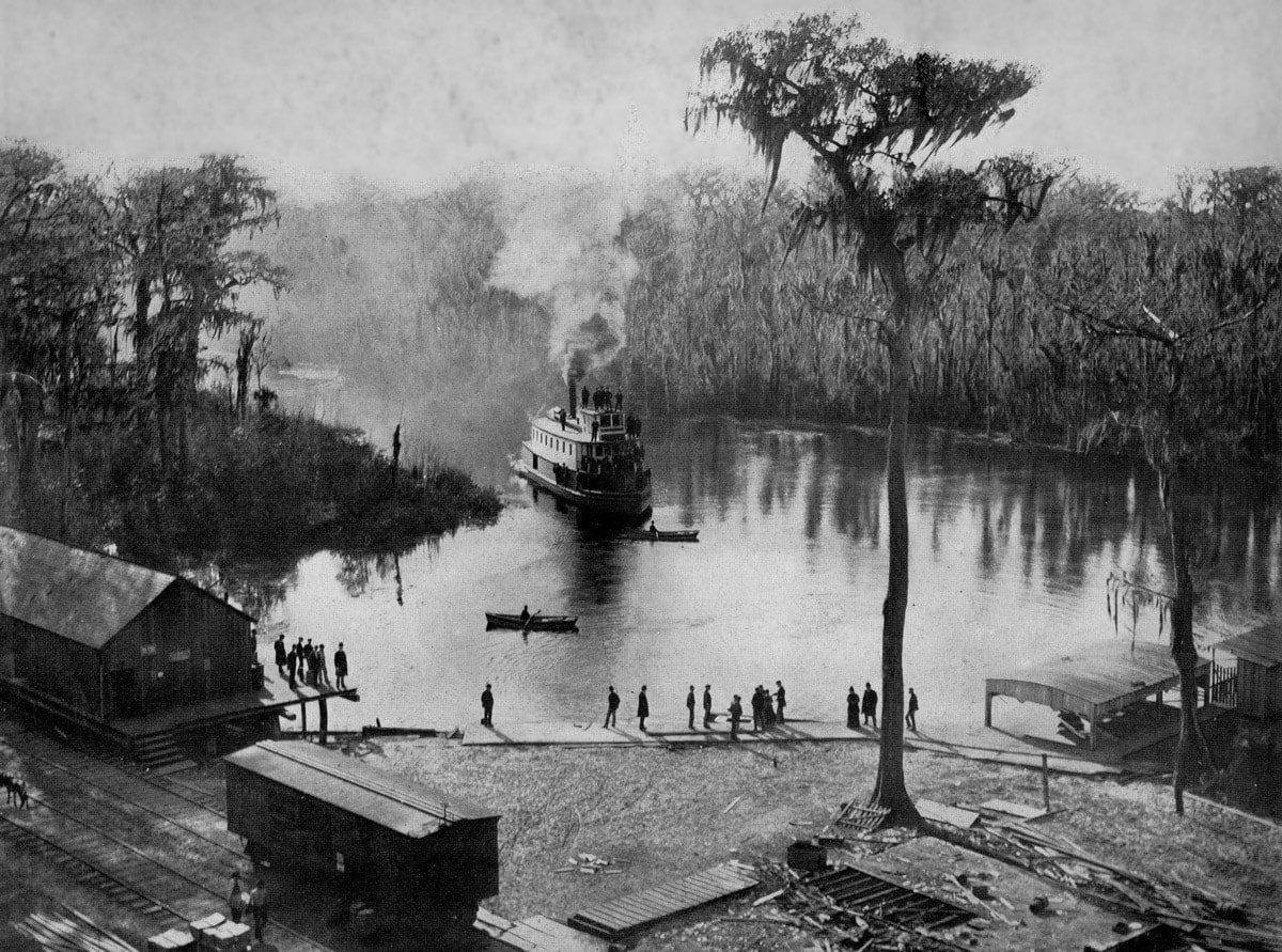 Silver Springs, Florida in 1901