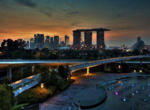 Evening in Singapore