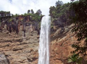 Sipi Falls in Uganda, main drop