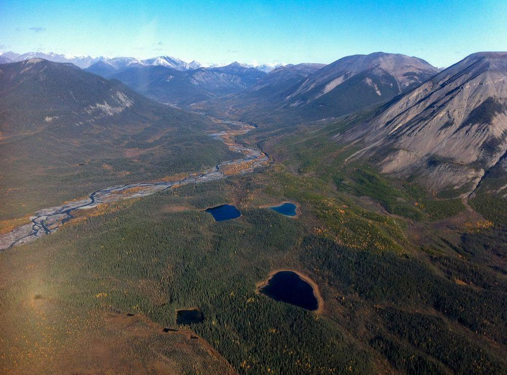 Nahanni Valley, Canada. Mysterious events have taken place here