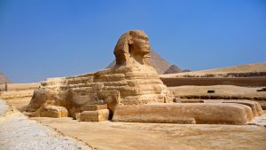 Great Sphinx in Giza, Egypt