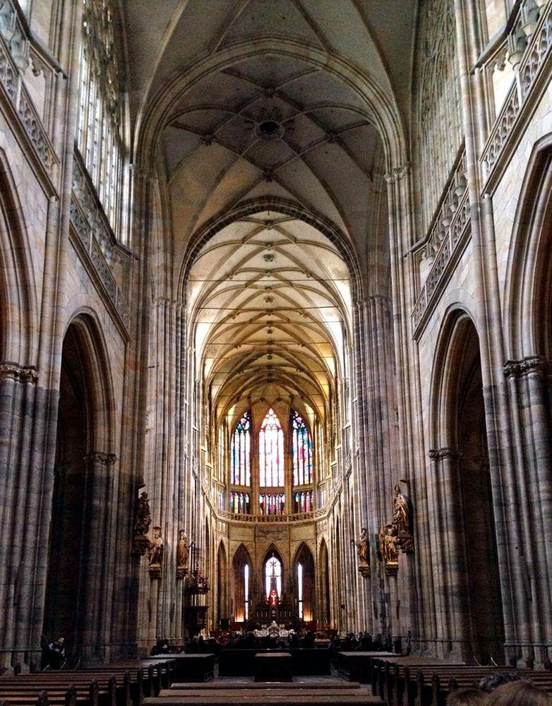 nterior of St. Vitus Cathedral