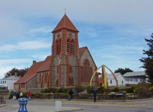 Christ Church Cathedral in Stanley, Falkland Islands