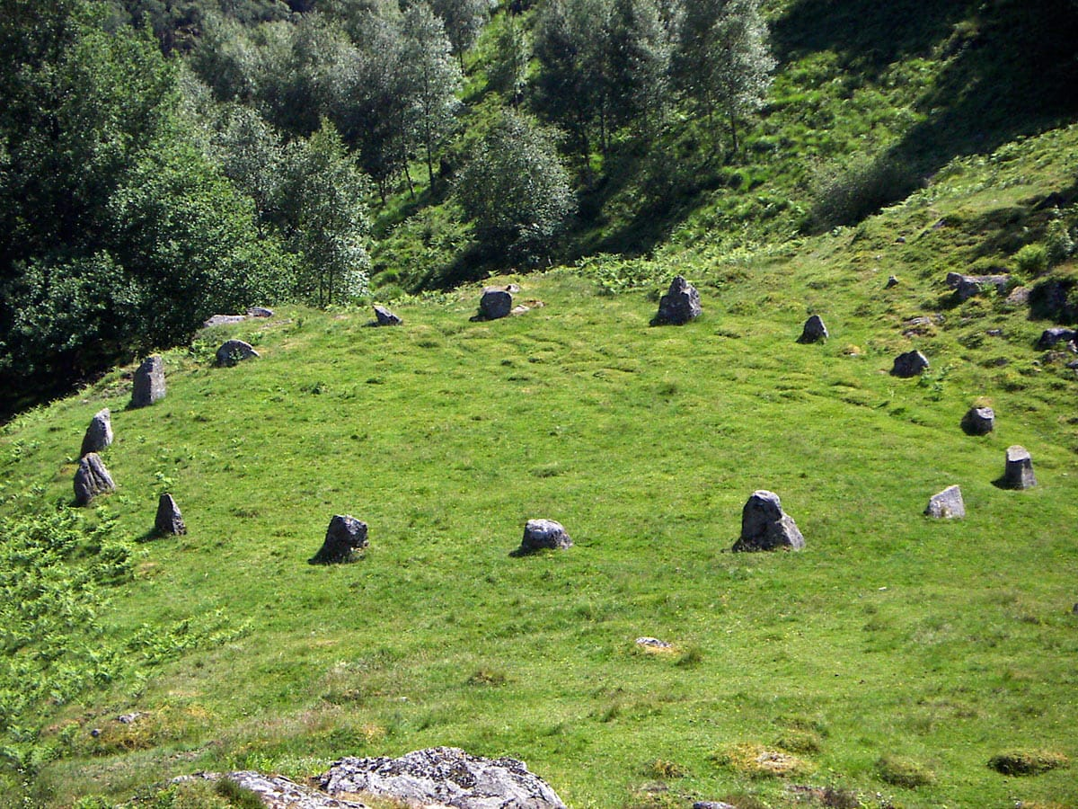 toplesteinan - stone circle in Norway